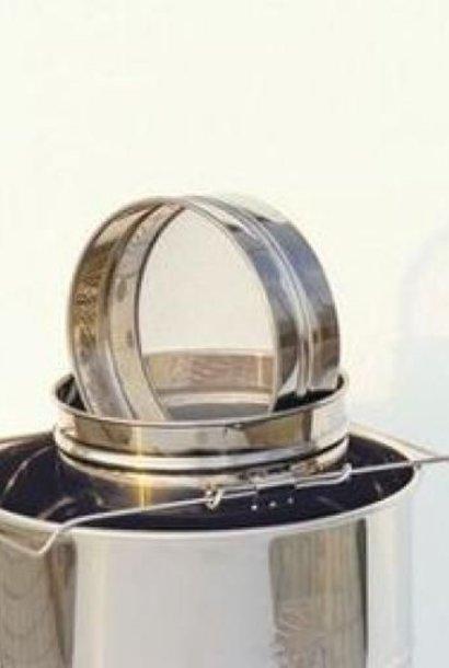 Stainless steel strainer for Lega - 100 kg