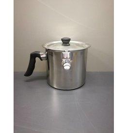 Melting pot inox to melt wax