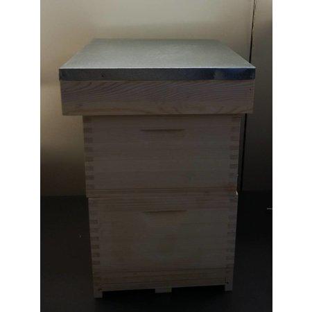 Complete Langstroth hive - 10 frames