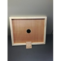 Wooden inner cover with feeding hole Langstroth