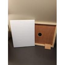 Isolation (styromousse) pour couvre-cadres en bois Langstroth