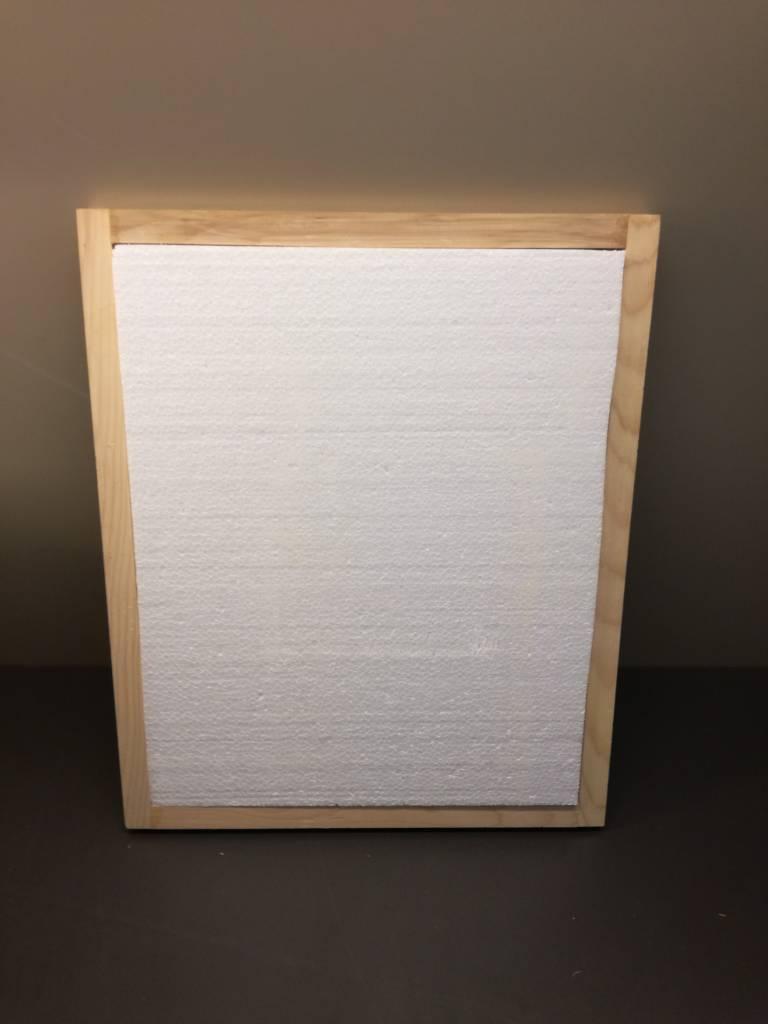 Isolatie (piepschuim) voor houten afdekplaat DB10-1