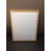 Isolatie (piepschuim) voor houten afdekplaat DB12