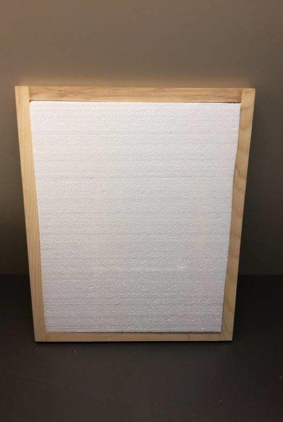 Isolation (styromousse) pour couvre-cadres en bois DB12