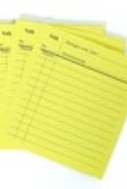 Note cards ( 20 pieces)