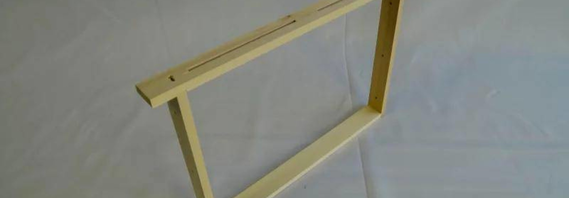 10 Simplex brood frames (assembled & NOT wired)