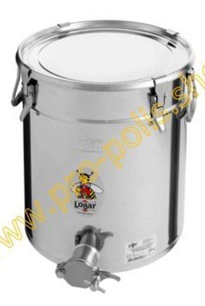 Honey ripener Lega 35 kg with inox cutting tap