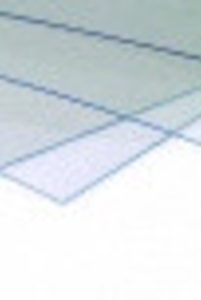 Plexiglas afdekplaat Simplex afleggerkast