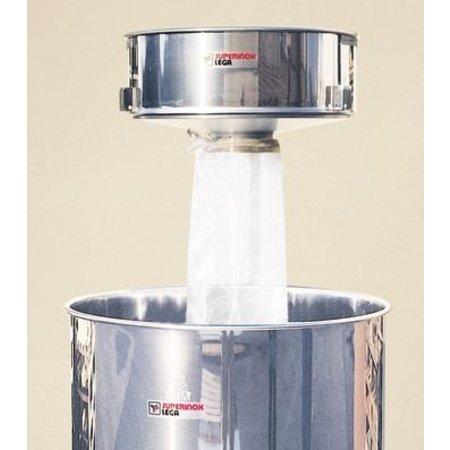 Opzetstuk en filterkous (50 en 100 kg)