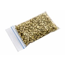 Brass eyelids - 1000 pieces - 3mm