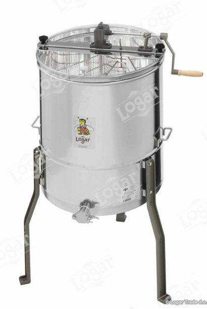 Extracteur de miel  Logar 4 frames sans axe central - manual