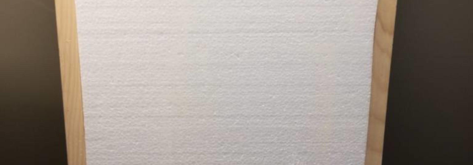 Isolatie (piepschuim) voor afdekplaat Simplex