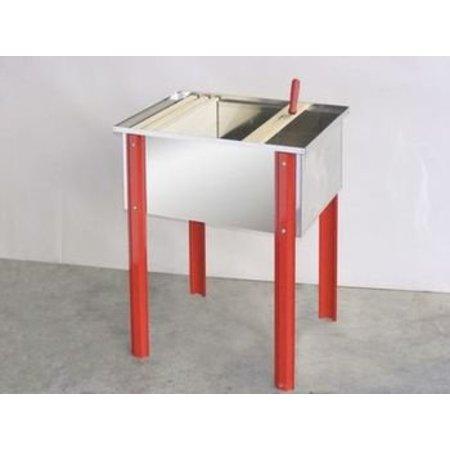 Inox désoperculer boîte BANCO 100 cm