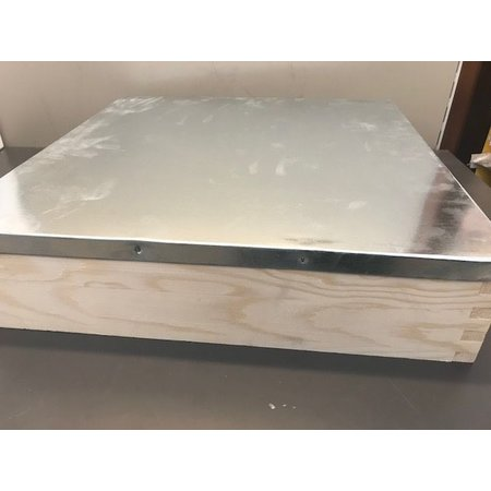 Wooden roof Dadant nuc box