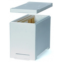 Dadant nuc box (styrofoam) - 6 frames