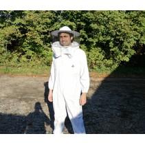 Combinaison d'apiculteur avec voile ronde
