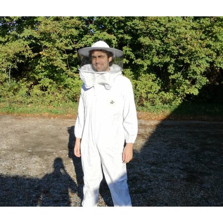 Beekeeper overall with round veil