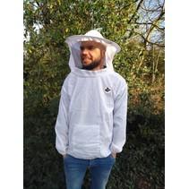 Blouson d'apiculteur léger avec voile ronde