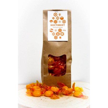 Honing & sinaasappel snoep - 250g
