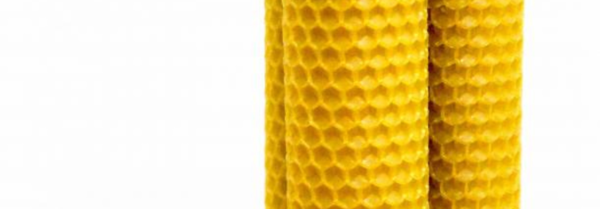 Grote bijenwaskaarsen - 150g