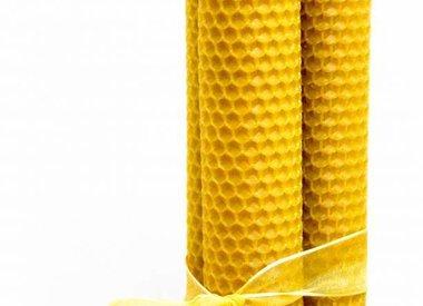 Kaarsen uit bijenwas