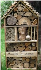 Insectenhotel - Kast 1