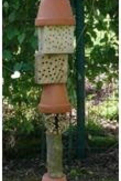 Insectenhotel - Totem