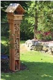 Insect hotel - Bell tower
