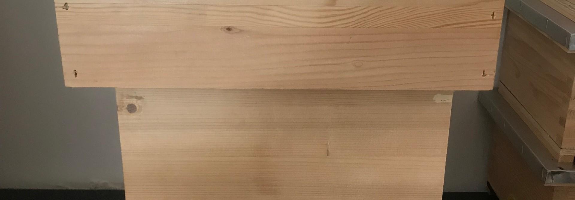 Complete Dadant Blatt afleggerkast - 6 ramen