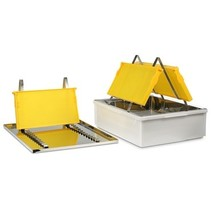 Uncappingtray for 2 persons
