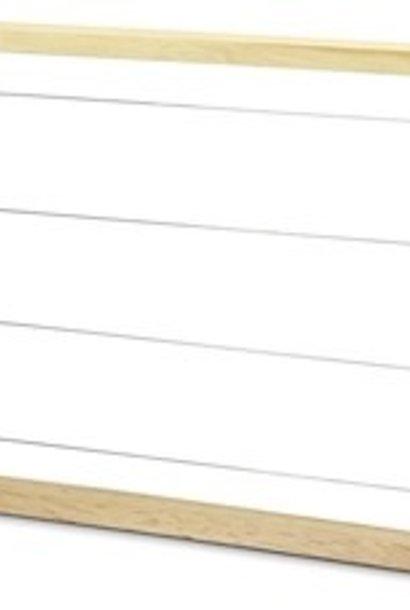 Zander broedramen - 10 stuks (gemonteerd & bedraad)