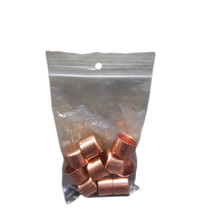 Copper jars (18mm Ø) - 10 pieces
