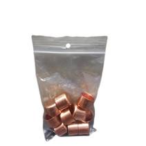 Pots en cuivre (18mm Ø) - 10 pièces