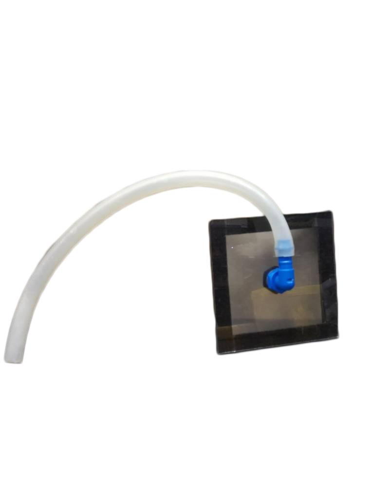PVC aansluitingsstuk voor op oxaalzuurverdamper-1