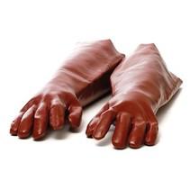 Des gants long résistant aux acides