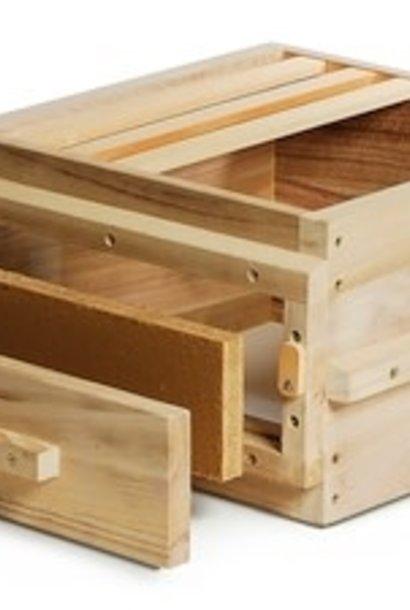 Original corps de ruche Warré avec vitres