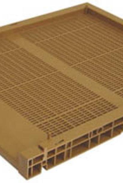 PVC Dadant bottom full ventilation