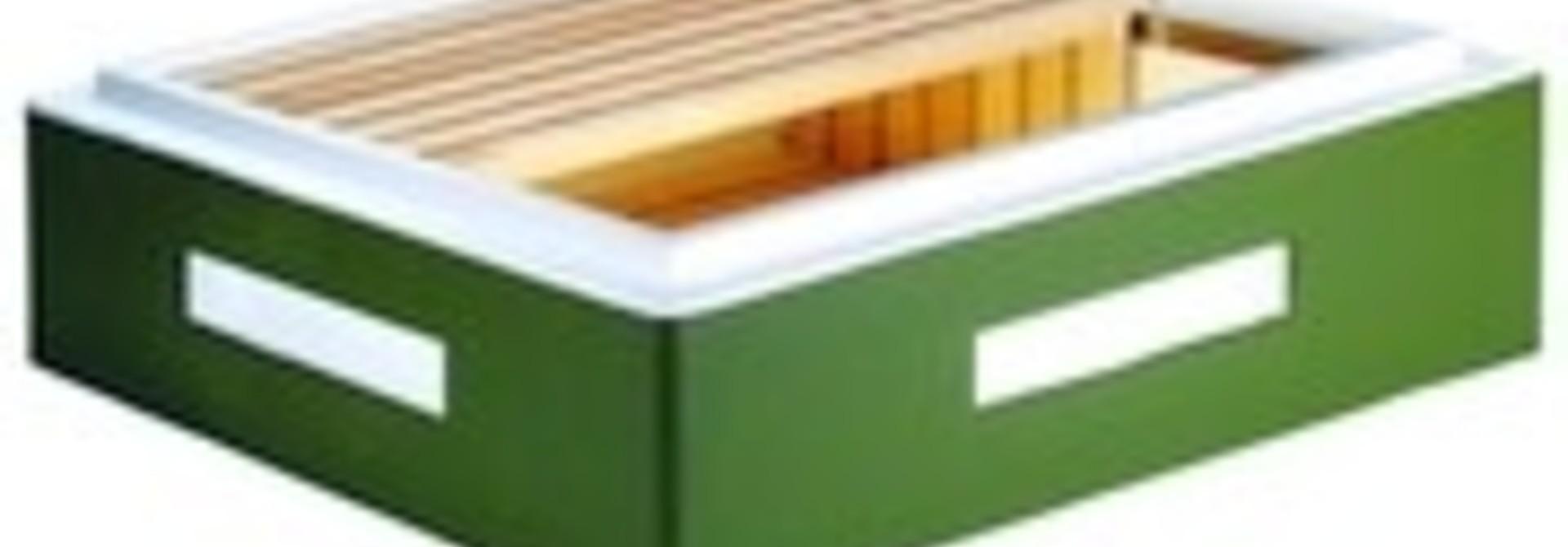 Frankenbeute honingzolder Dadant voor 11 ramen