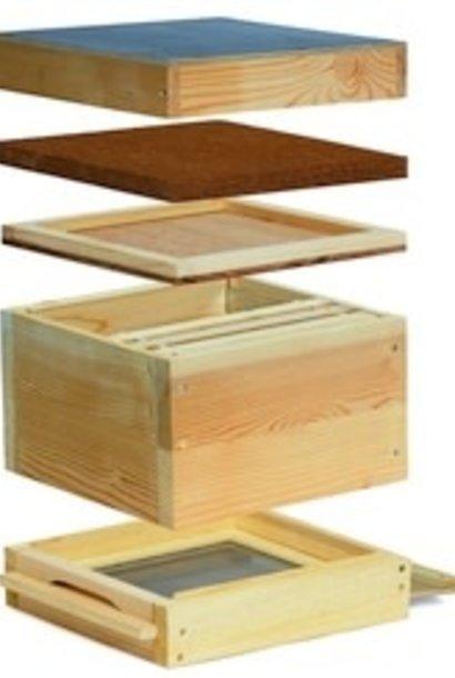 Mini plus en bois complète