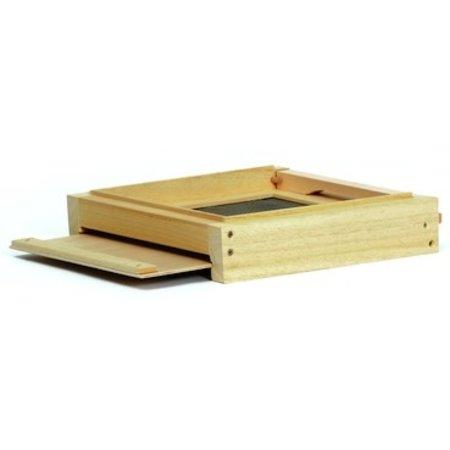 Wooden mini plus varroa plateau