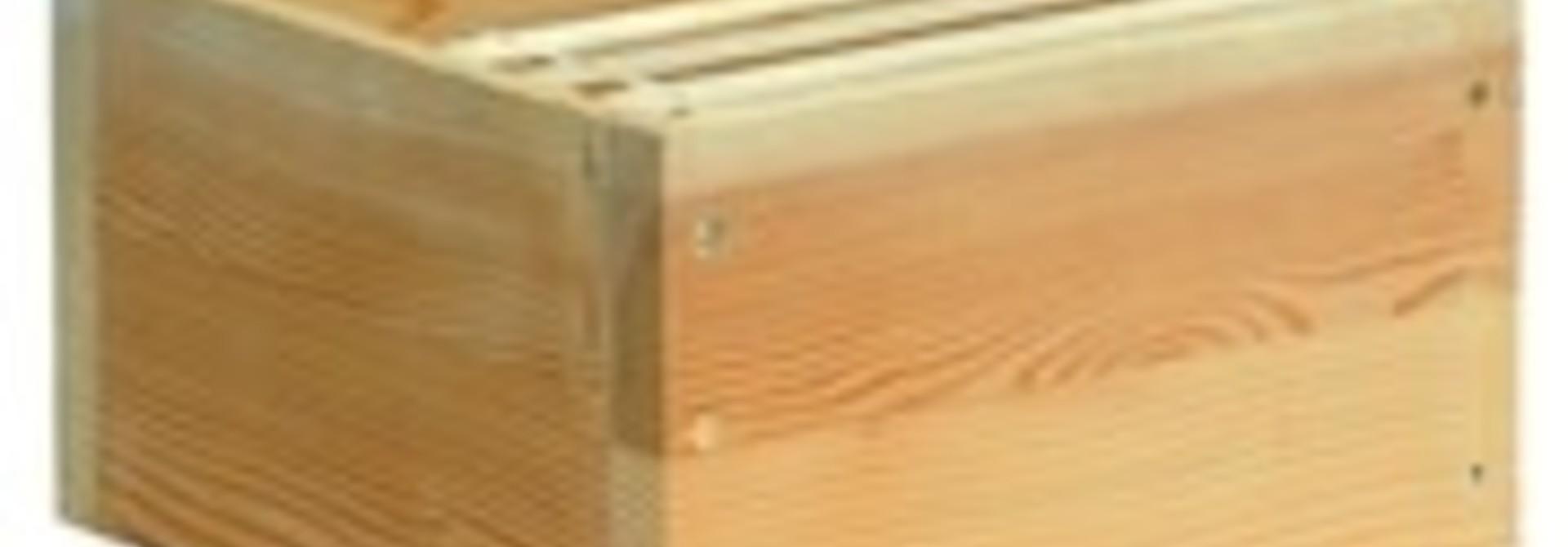 Houten mini plus broedkamer zonder ramen
