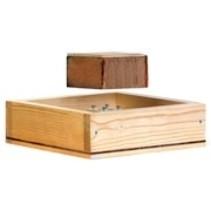 Mini plus en bois nourisseur
