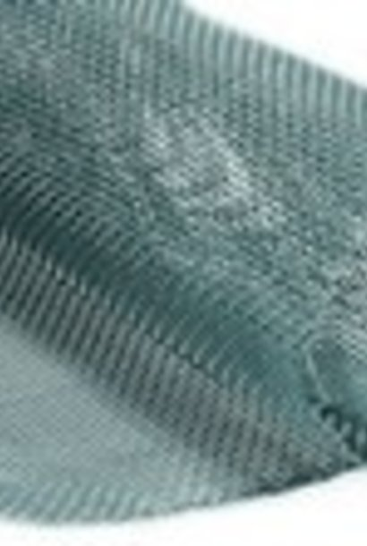 Inox bodemgaas - 2.5 m op 48,5 cm.