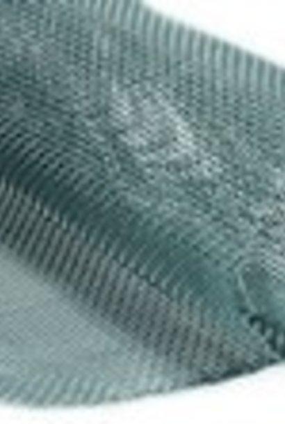 Inox bodemgaas - 2.5m op 48,5 cm.