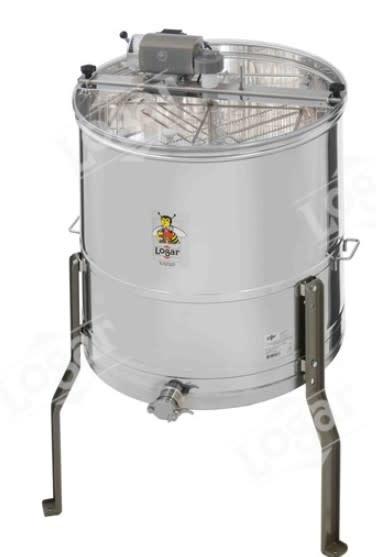 Zelfwentelende honingslinger 4 ramen - Logar-1