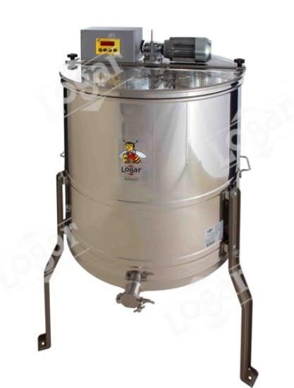 Zelfwentelende honingslinger 4 ramen - Logar automatisch-1