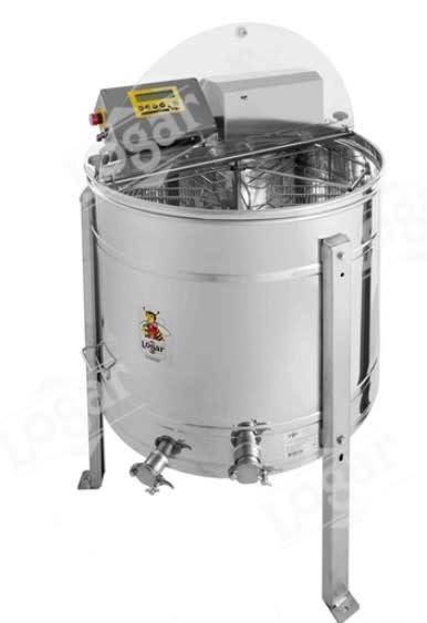 Zelfwentelende honingslinger 6 ramen - Logar automatisch-1