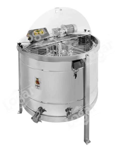 Zelfwentelende honingslinger 16 ramen - Logar automatisch-1