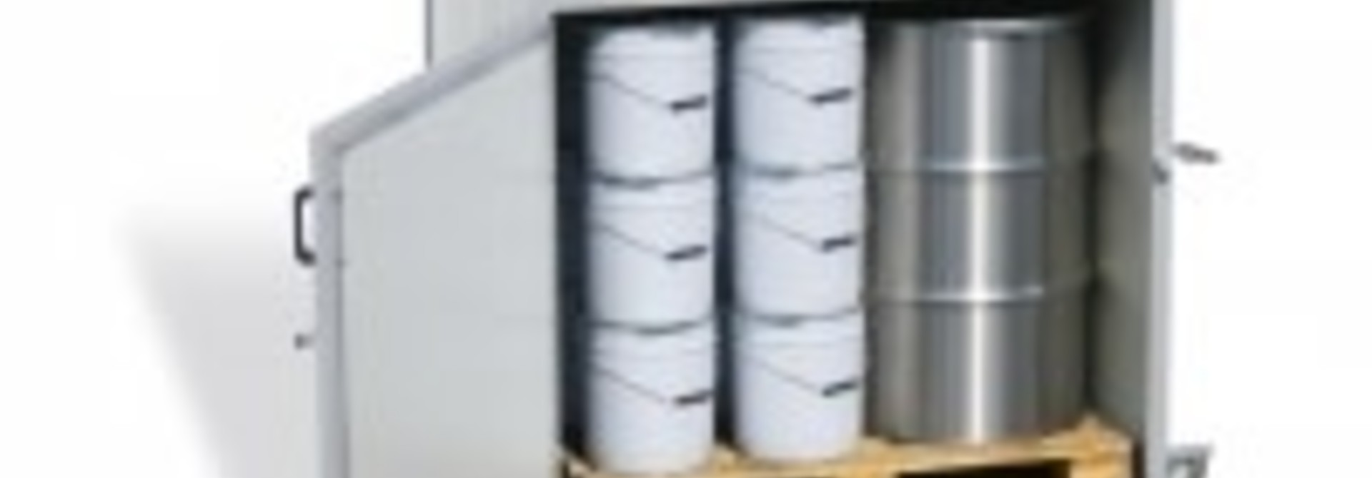 Verwarmingskast (Lega) - 2 x 300 kg vat