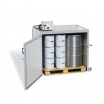 Heating cabine (Lega) - 2 x 300kg drum